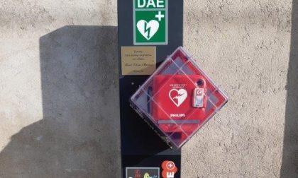 Barzanò: donato un nuovo Dae nella frazione di San Feriolo