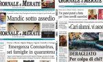 Un anno di informazione con il Giornale di Merate: sfoglia tutte le prime pagine del 2020