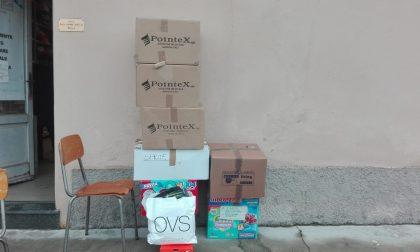 Merate: City Angels in azione per la raccolta di abiti invernali per i bambini