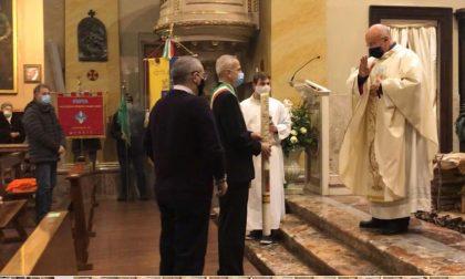 """Merate celebra Sant'Ambrogio: """"Siamo tutti sulla stessa barca in mezzo alla tempesta"""" LE FOTO"""