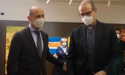 """""""Lotto. L'inquietudine della realtà. Lo sguardo di Giovanni Frangi"""": tagliato il nastro della mostra a Palazzo delle Paure VIDEO"""