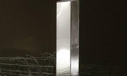 Il 2021 porta un monolite misterioso anche nel nord Italia FOTO