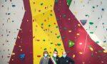 Olgiate Molgora: realizzata la nuova parete di arrampicata della Polisportiva FOTO