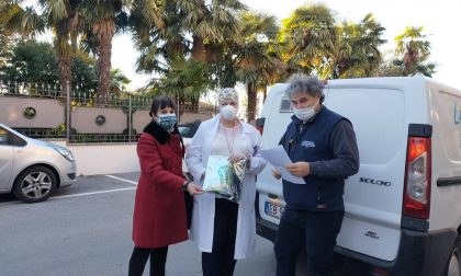 I vaccini Covid sono arrivati alla casa di riposo di Monticello: le foto