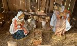 Rubato il Gesù bambino del presepe della chiesa parrocchiale