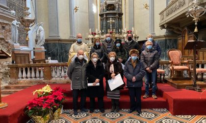 Caprino Bergamasco in parrocchia si festeggia l'anniversario di 5 coppie