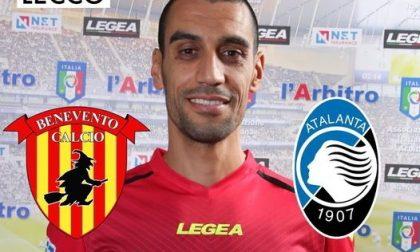 Aia Lecco, Gamal Mokhtar designato per Benevento-Atalanta