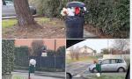 Abbandono di rifiuti a Solza: l'indignazione dell'Amministrazione