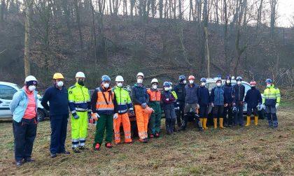 Fiumi sicuri 2021: volontari della Protezione Civile in campo