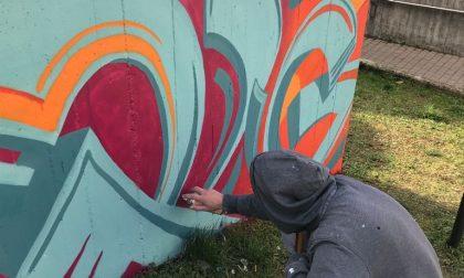 Cisano Bergamasco, quasi completati i lavori dei murales FOTO