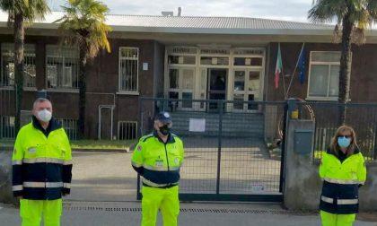 Protezione Civile della Brianza in azione nelle scuole superiori del Casatese