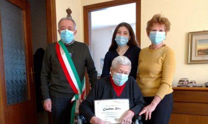 Missaglia: Carolina Rota spegne cento candeline