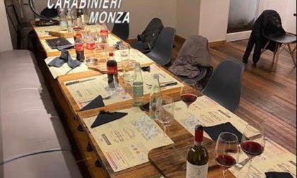 Cena clandestina a base di vino e tartufo, chiuso il ristorante e sanzionate tredici persone