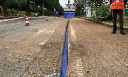 Airuno: al via i lavori per la posa della fibra ottica