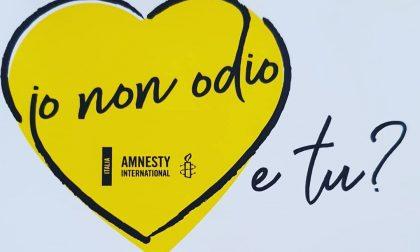 Discorsi d'odio, incontri online con Amnesty International