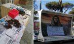 Tre ragazze lanciano letame sul banchetto degli anti-abortisti