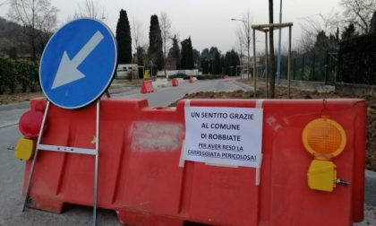 Via Serra Groppelli a Robbiate: i lavori sollevano il dibattito tra i cittadini