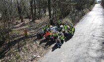 Green Boys, i lavori di pulizia nei comuni di Barzago e Garbagnate
