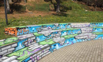 Barzanò: un nuovo colore agli spazi del Parco Mézièresgrazie al giovane artista Mipam