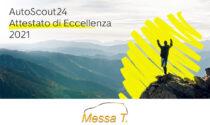 Autoscout24 premia la concessionaria Renault Messa T. con il Certificato d'Eccellenza 2021