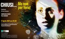 """""""Chiusi… Ma non per ferie"""": un nuovo spettacolo in streaming a Villa Mariani"""