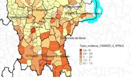 Covid, in Bergamasca calano ancora i casi settimanali: i dati nell'Isola e in Valle San Martino