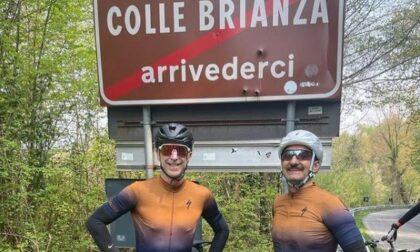 Dj Linus e Nicola Savino a spasso per la Brianza in bicicletta