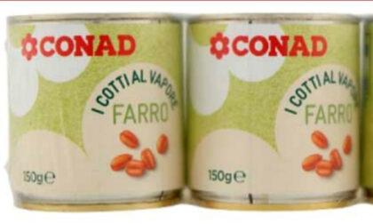 Attenzione al farro Conad con dentro… la soia
