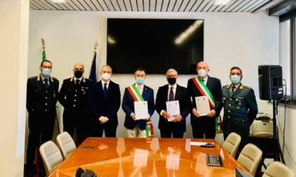 Due Comuni firmano un patto contro furti e microcriminalità