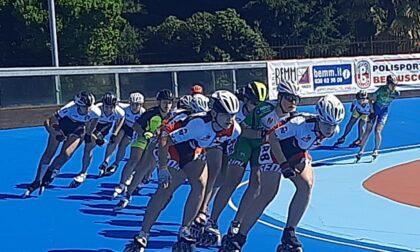 La Rotellistica Roseda agli Internazionali a L'Aquila e al Trofeo Brioni di Bellusco