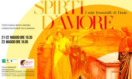 """""""Spirti d'Amore"""": un nuovo spettacolo teatrale a Villa Mariani"""