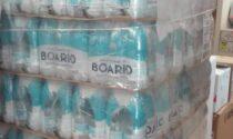 Villa D'Adda: donato un bancale di acqua naturale ai bisognosi