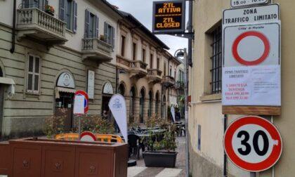 Via Manzoni chiusa alle auto: primo weekend di sperimentazione