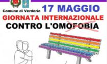 Verderio: una panchina arcobaleno contro l'omofobia