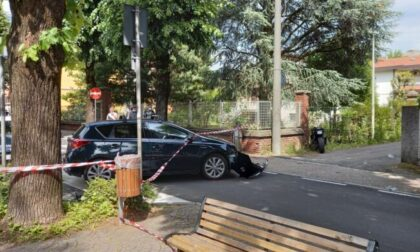 Un'altra giovane vittima della strada in Brianza
