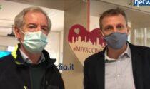 """Vaccini Covid, Bertolaso: """"Lombardia da Champions, ora vogliamo lo scudetto"""""""