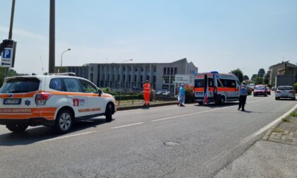 Scontro auto-moto a Casatenovo, un ferito