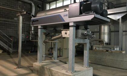 Completato il rinnovo degli impianti di disidratazione in 11 depuratori