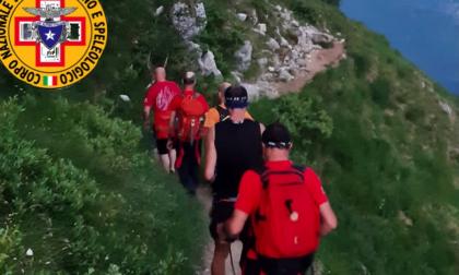 Disidratato e disorientato in Grignetta: sky-runner brianzolo salvato dal Soccorso Alpino