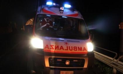Incidente nella notte, due feriti