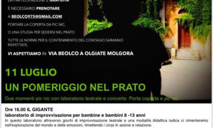 Olgiate Molgora: Beolco Fest per stare in compagnia