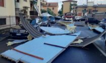 Il maltempo si abbatte sulla Lombardia: un tetto sradicato e hub vaccinale fuori uso