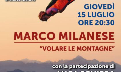 """""""Volare le montagne"""" con l'alpinista Marco Milanese"""