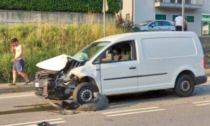 Incidente sulla provinciale, traffico in tilt IL VIDEO DEL TAMPONAMENTO