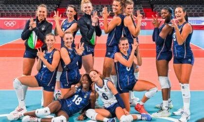 Olimpiadi, le azzurre della pallavolo capitanate dalla nostra  Sylla sono uno spettacolo