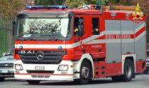 Ancora fiamme in galleria : intervento dei pompieri per un camion che si stava incendiando nel Barro