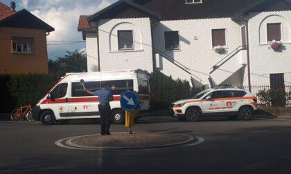 Ciclista investito a Galgiana finisce all'ospedale