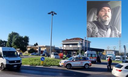 Auto sulla rotonda, malore fatale per Ezio Sala,  50 anni