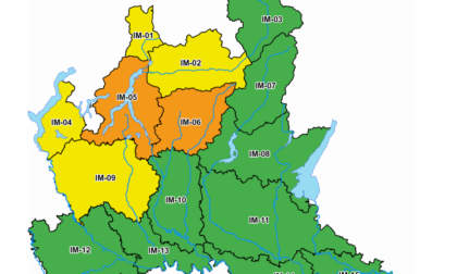 Meteo in peggioramento sul Lecchese: l'allerta passa da gialla a arancione