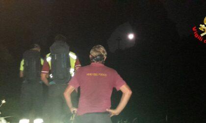 Escursionisti dispersi in Grigna, intervento nella notte